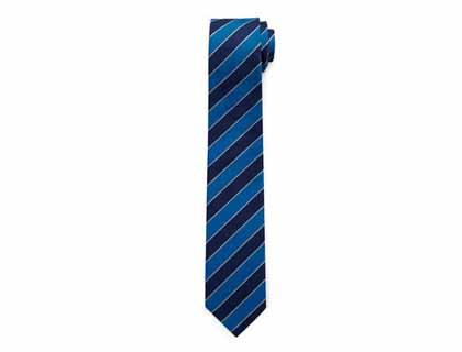 VW Blue striped tie