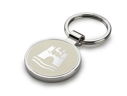 Keyring with Wolfsburg coat of arms
