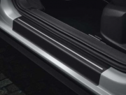 Genuine VW T-Roc Front and Rear Door Sill Protection Film (black/silver)