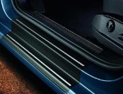 Genuine VW Door Sill Protective Film - Black/Silver (3 Door)