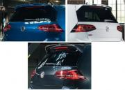 Genuine VW Golf Facelift Oettinger Roof Spoiler-GTI /GTD/Golf R