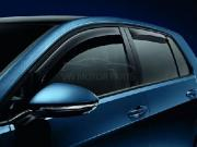 Genuine VW MK 7 Golf Front Door Wind Deflectors - 5 door