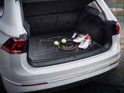 Genuine VW Tiguan Boot Mat Basic Raised Floor 2016-