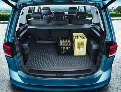 Genuine VW Touran Flexible Boot Liner - 7 seater