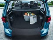 Genuine VW Touran Luggage Compartment Mat - 5 seater