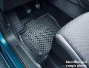 Genuine Volkswagen Touran Rear Rubber Mats