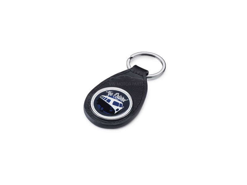 Genuine VW Campervan Leather Keyring