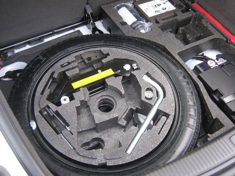 Spare Wheel And Tools