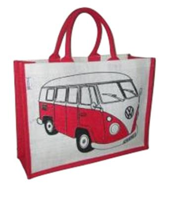 Genuine VW Campervan Shopper Bag - Red