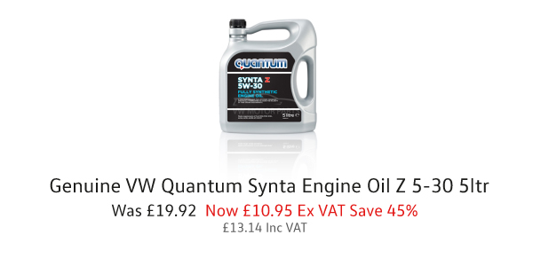 genuine vw quantum synta engine oil