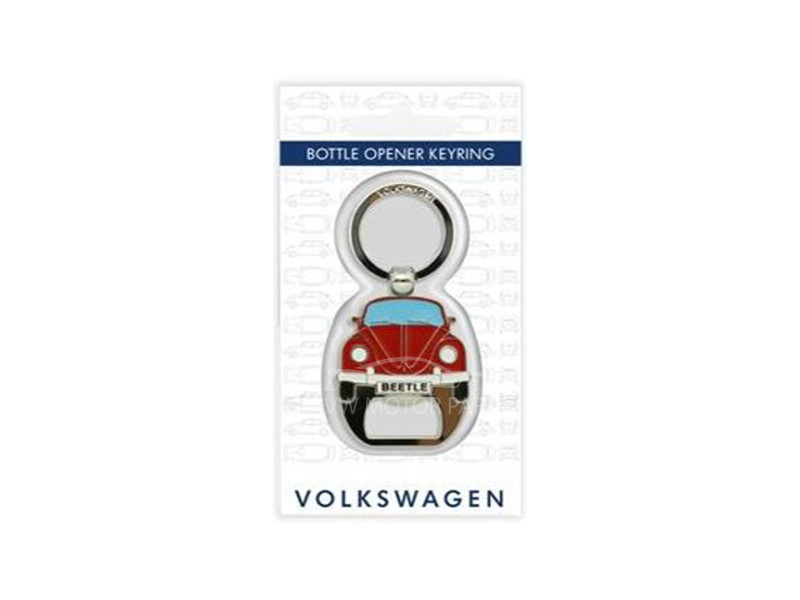 Genuine VW Beetle Bottle Opener Keyring
