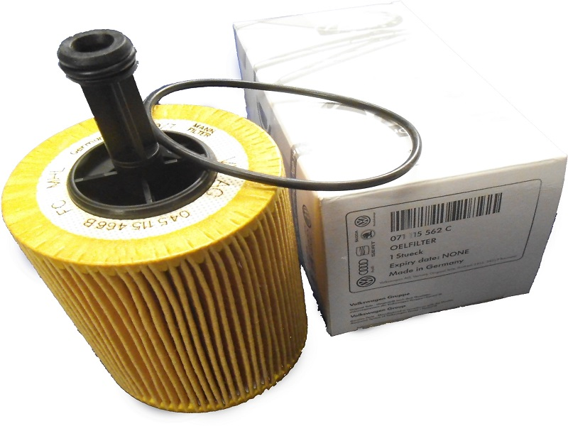 Genuine VW Golf Oil Filter 2.0TD Diesel
