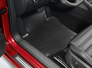 Genuine VW Scirocco Rubber Mats Front Set