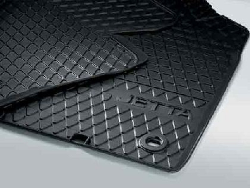 Genuine VW Jetta Front Rubber Mats