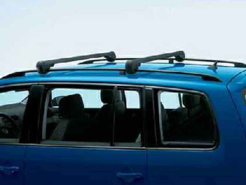 Genuine VW Touran Roof Bars, Black