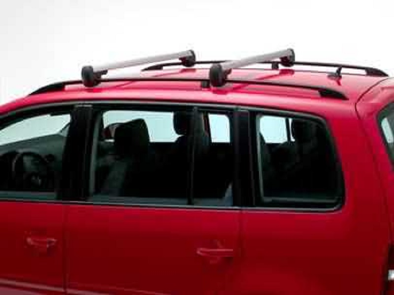 Genuine VW Touran Roof Bars, Silver