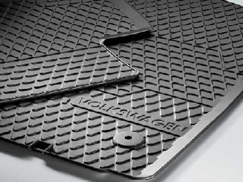 Genuine VW Touran Rubber Mats Rear Set
