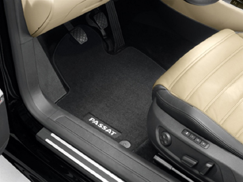 Genuine VW Passat CC Front Luxury Carpet Mat Set