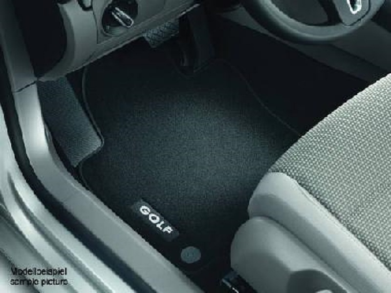 Genuine VW Golf Cabriolet Luxury Carpet Mats 2011 >