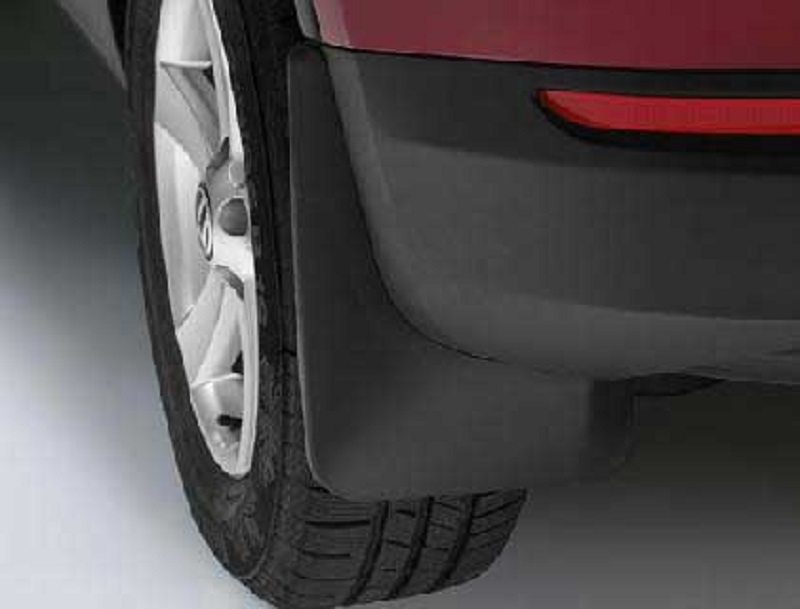 Genuine VW Tiguan Rear Mudflap Set 2007>