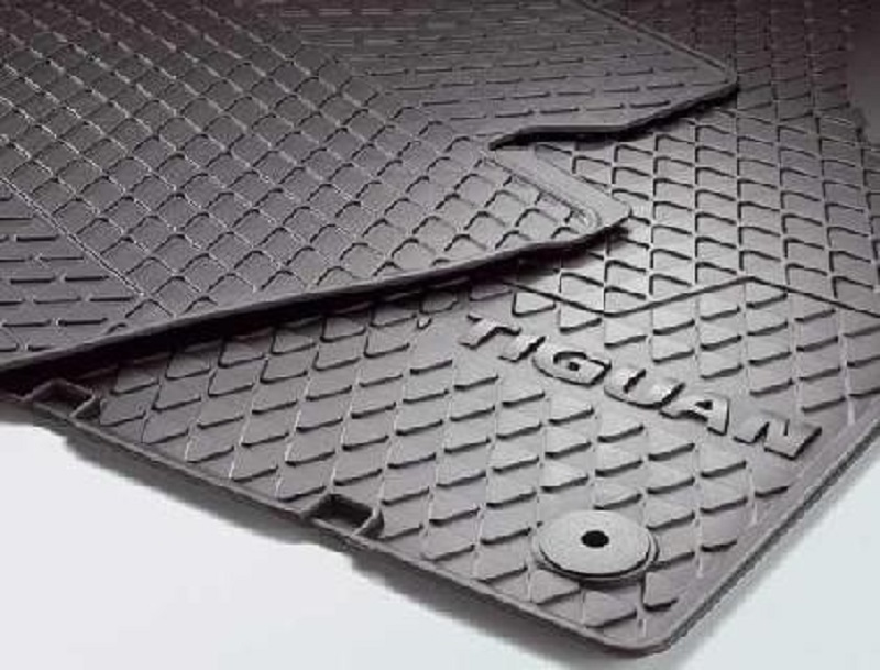 Genuine VW Tiguan Accessory Rubber Mats Front 2007 Onwards