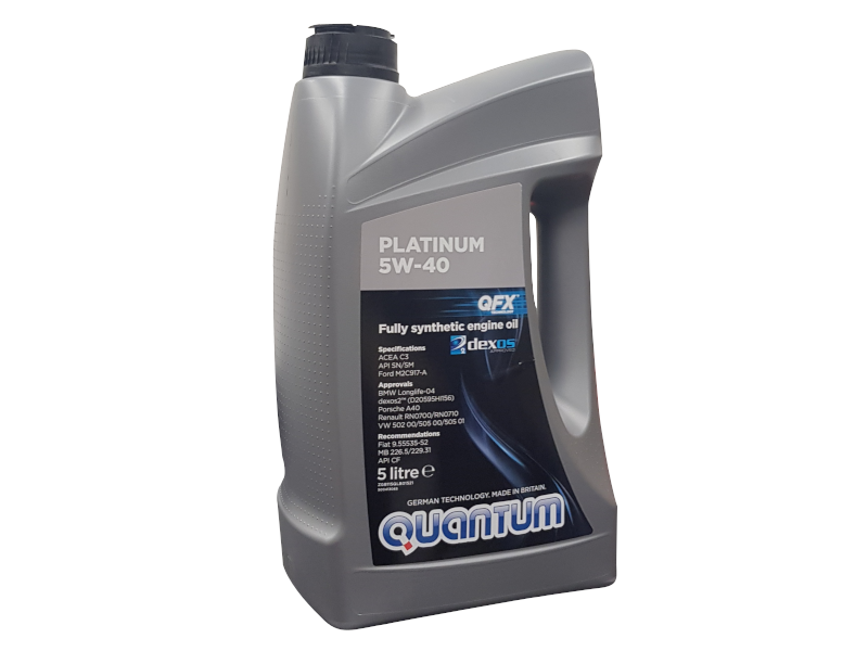Genuine VW Quantum Platinum Engine Oil 5w40 5 Ltr