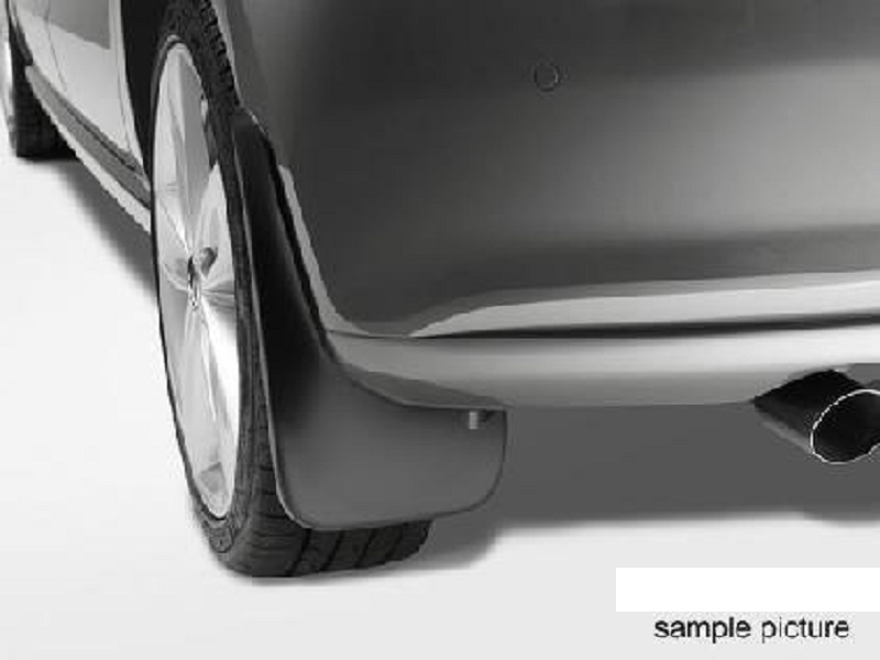 Genuine VW Polo Rear Mudflap Kit 2009 - 2014