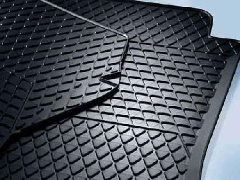 Genuine VW Sharan Rubber Mats CENTRE Set