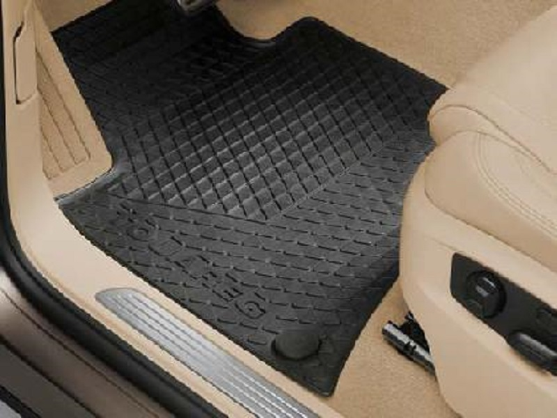Genuine VW Touareg Rubber Mats Rear Set