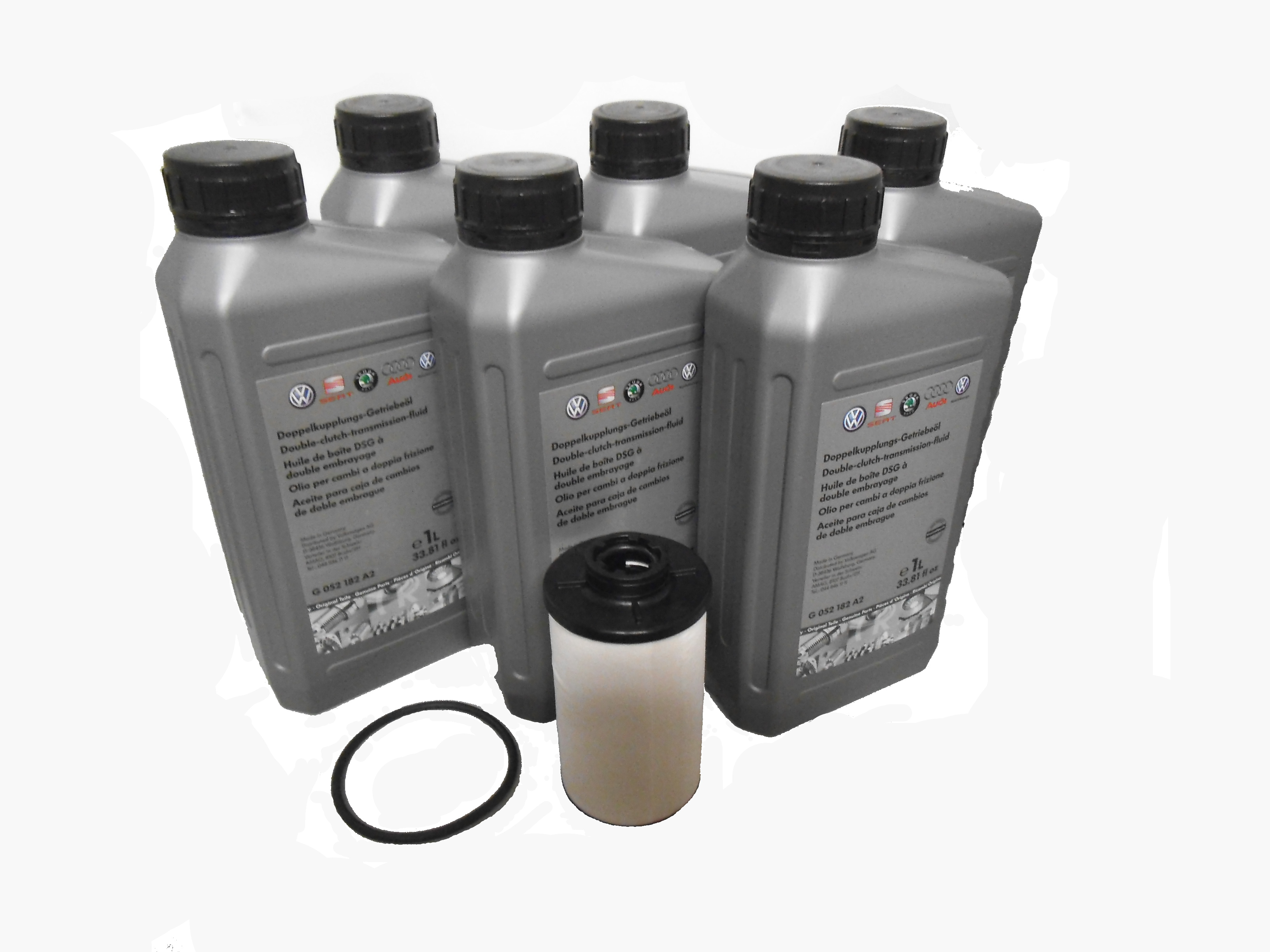 Genuine VW DSG Gearbox Oil And Filter Kit vw dsg gearbox oil and