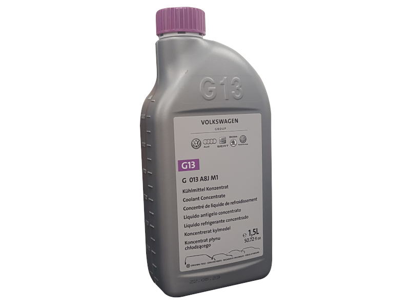 antifreeze for 2013 vw passat