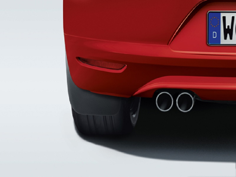 Genuine VW Full Set Of Scirocco Mudflaps 2008 - 2015