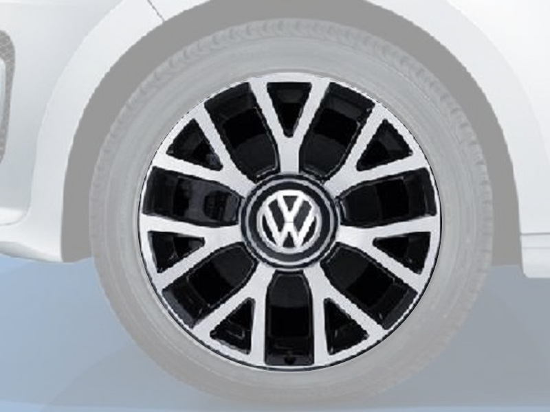 "Genuine VW UP Alloy Wheels, Upsilon 16"" Single Wheel"