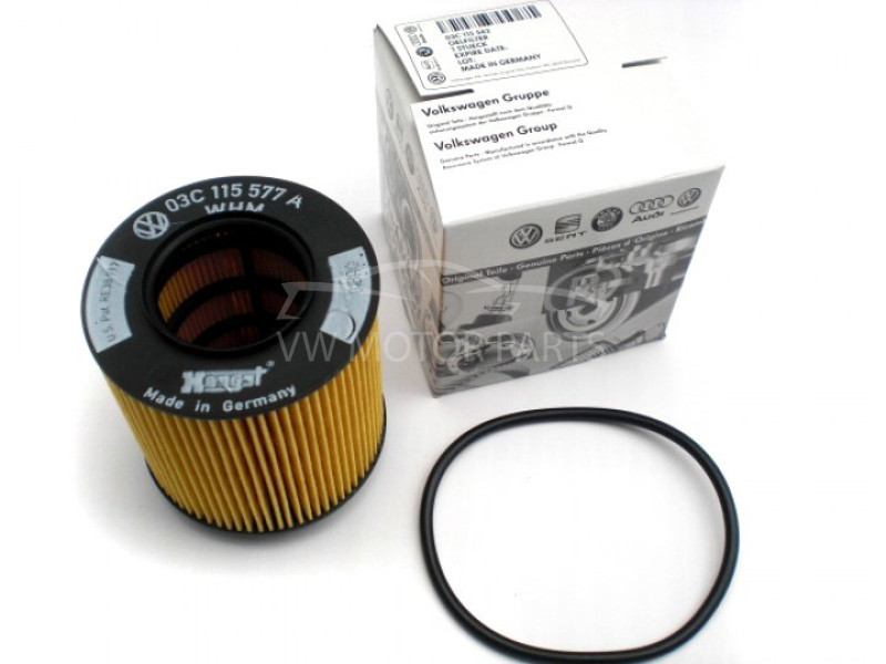 Genuine VW Touran Oil Filter 1.6 Petrol, Element Filter 2003 - 2