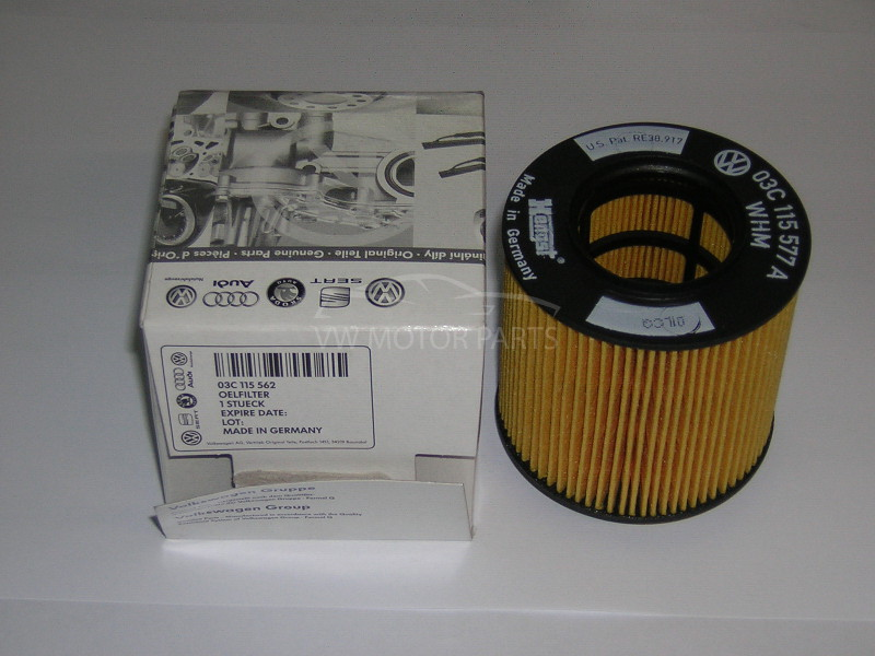 Genuine VW Touran Oil Filter 2.0 Petrol 2003 - 2009