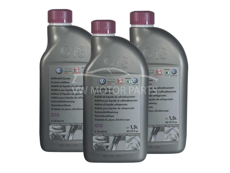 Genuine VW G13 Coolant Concentrate 3 X 1.5Ltr