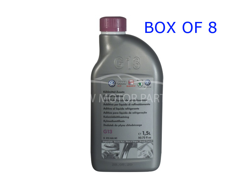 Genuine VW G13 Coolant Concentrate Box Of 8 X 1.5Ltr