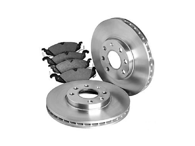 Genuine VW Touareg Front Brake Discs and Pads Set