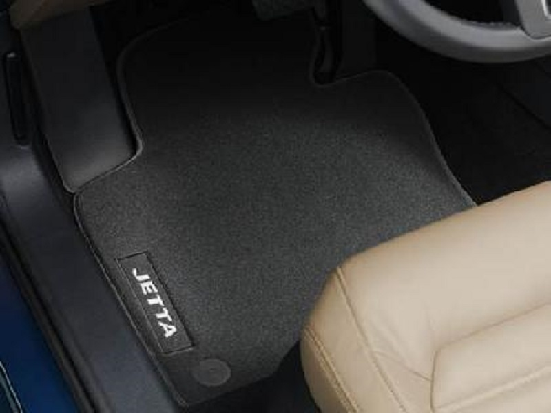 Genuine VW Jetta Luxury Carpet Mats 2011 Onwards