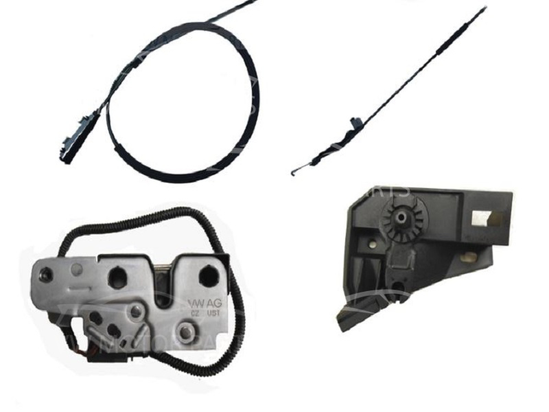Genuine VW Jetta Bonnet Catch and Cables Repair Kit