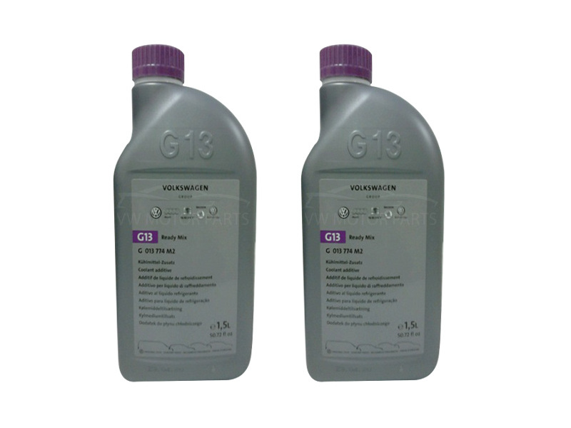 Genuine VW G13 Coolant Ready Mix 2 x1.5 Ltr